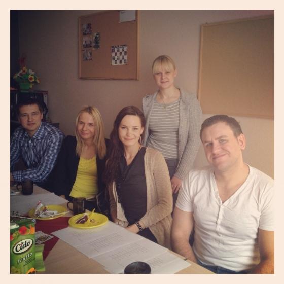 16.04.2013. - Rīta intensīvās grupas izlaidiens! :)