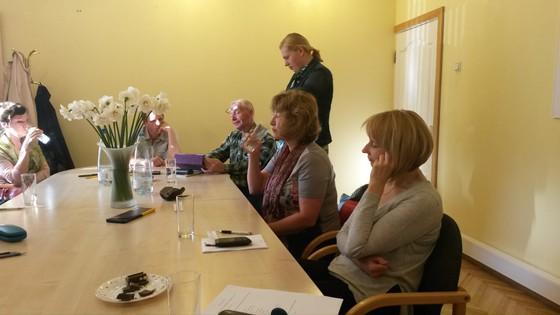 13.05.2016. Eksāmena diena angļu valodas grupām Rīgas Ūdens Arodbiedrībā