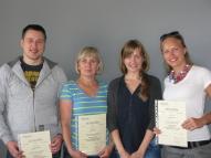 Izlaidums - 31.08.2013. - Vācu valodas grupiņa ar dažu studentu iztrūkumu pasniedzējas Lāsmas vadībā!