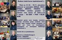 Rudens trakā kursu izpārdošana - TIKAI no 1.11. - 15.11. visas jaunās valodu grupas ar 40% atlaidi! Nepalaid iespēju, piesakies!! :)