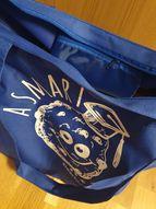 Smart Cookie iepirkuma soma ar rāvējslēdzēju, zila