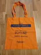 The Future Simple iepirkuma maisiņš, oranžs